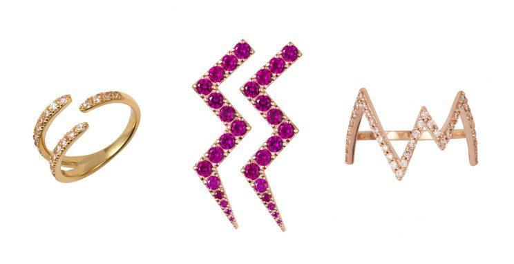 <i>A heartbeat design is the collection's highlight [Photo: Rosie Fortescue Jewellery]</i>