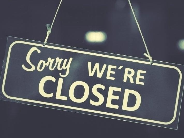 Another business hit hard by the pandemic has announced it will close.