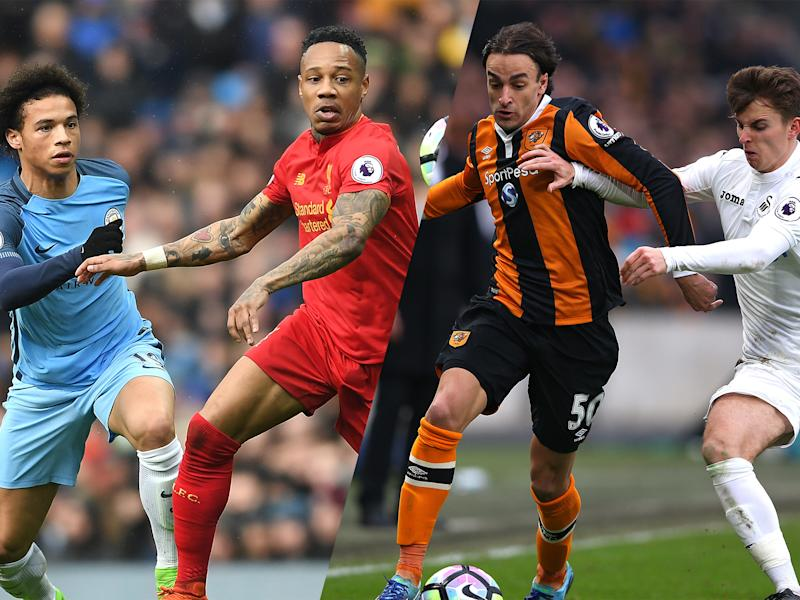 Liverpool, Manchester City, Hull and Swansea could all compete in end-of-season playoffs: Getty
