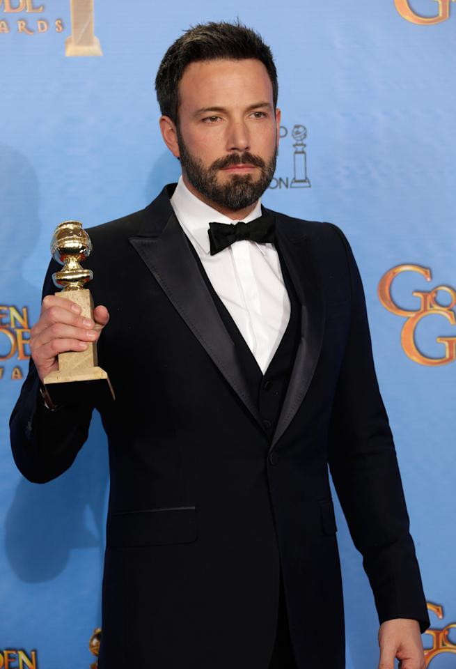 "SURPRISE: ""Argo"" The Academy baffled everyone this past Thursday by stiffing Ben Affleck in the Best Director category for ""Argo.""  Even though the movie got some of the best reviews of the year, it seemed like the historical thriller's award-season momentum had stalled in favorite of movies like ""Lincoln"" and ""Silver Linings Playbook."" But tonight, Ben not only won a trophy for best director but ""Argo"" won the night's top prize for Best Drama.  ""Argo"" is now officially back in the race."