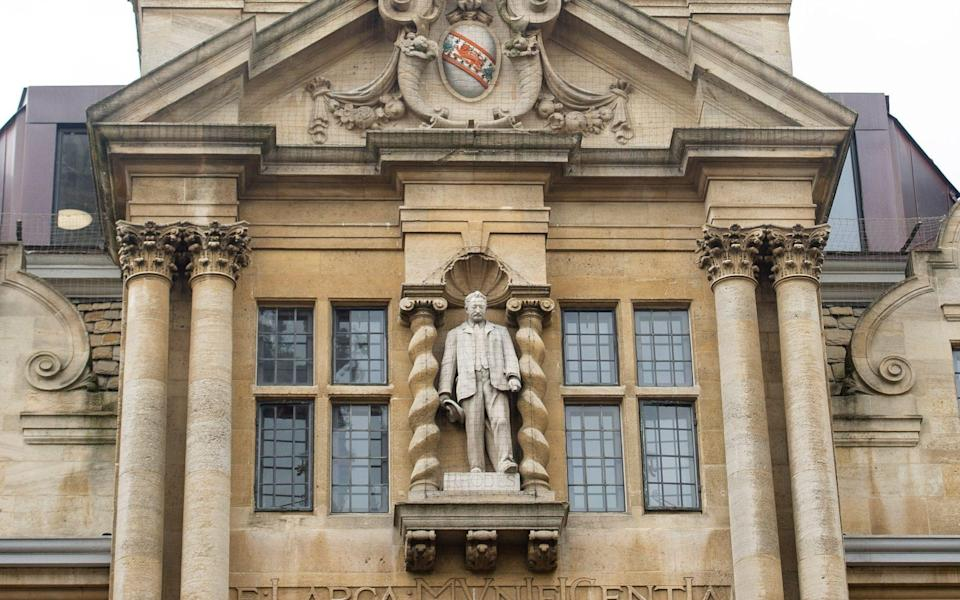 Several weeks ago it was decide that the controversial statue of Cecil Rhodes will remain at Oxford's Oriel College. The statue is situated on Oriel's Grade II listed High Street building, and its removal would be subject to legal and planning processes involving Oxford City Council, Historic England and the Secretary of State for Housing, Communities and Local Government - John Nguyen/JNVisuals