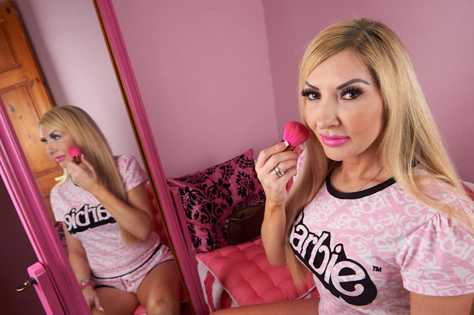 Rachel Evans will also celebrate Barbie's birthday with a night out [Photo: Caters]