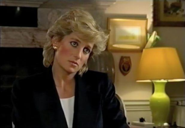 "<p>In 1995, Diana secretly gave a <em>very</em> revealing <a href=""http://www.dailymotion.com/video/x2eus87_panorama-princess-diana-interview-with-martin-bashir_news"" rel=""nofollow noopener"" target=""_blank"" data-ylk=""slk:interview"" class=""link rapid-noclick-resp"">interview</a> to the BBC's Martin Bashir. Though her aides claimed she later regretted it, the princess tried to take control of the media and paparazzi frenzy around her life. It was her first solo interview and was watched by more than 21.5 million people in the United Kingdom. </p>"