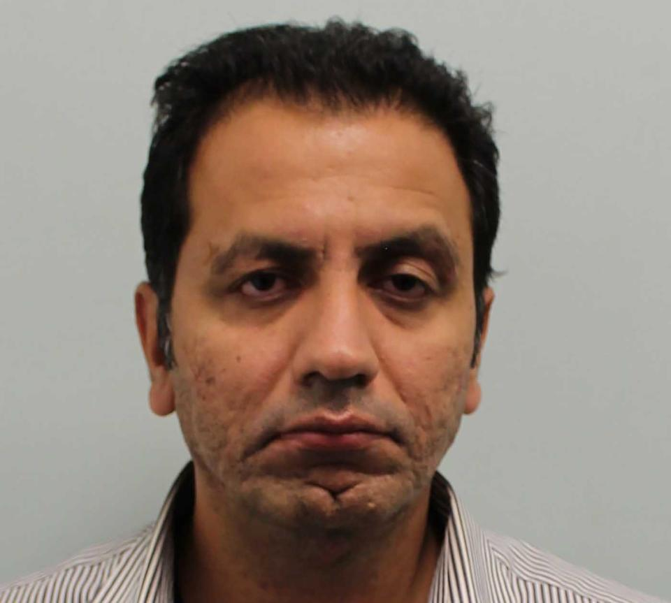Qaiser Saeed, 40, is pictured.