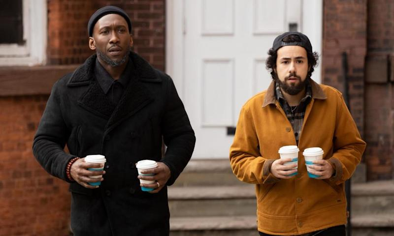 Mahershala Ali and Ramy Youssef in Ramy.