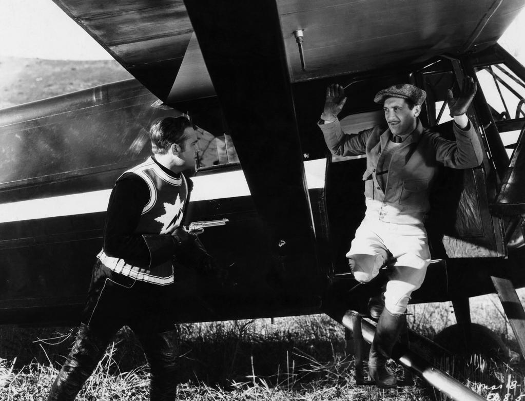 "1935  One of the greatest western stars of all time, Gene Autry opened in his first starring role on this day. Autry played the part of cowboy singer Gene Autry in the genre-jumping science fiction/western ""The Phantom Empire."""