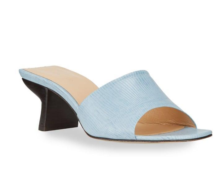 "<p>Powder blue is the perfect color for summer. </p> <p><a href=""https://www.popsugar.com/buy/Far-Lily-50mm-Lizard-Embossed-Sandals-573322?p_name=By%20Far%20Lily%2050mm%20Lizard%20Embossed%20Sandals&retailer=neimanmarcus.com&pid=573322&price=429&evar1=fab%3Aus&evar9=47446893&evar98=https%3A%2F%2Fwww.popsugar.com%2Fphoto-gallery%2F47446893%2Fimage%2F47463236%2FBy-Far-Lily-50mm-Lizard-Embossed-Sandals&list1=sandals%2Cshoes%2Ctrends%2Csummer%2Cfashion%20shopping&prop13=api&pdata=1"" class=""link rapid-noclick-resp"" rel=""nofollow noopener"" target=""_blank"" data-ylk=""slk:By Far Lily 50mm Lizard Embossed Sandals"">By Far Lily 50mm Lizard Embossed Sandals</a> ($429) </p>"