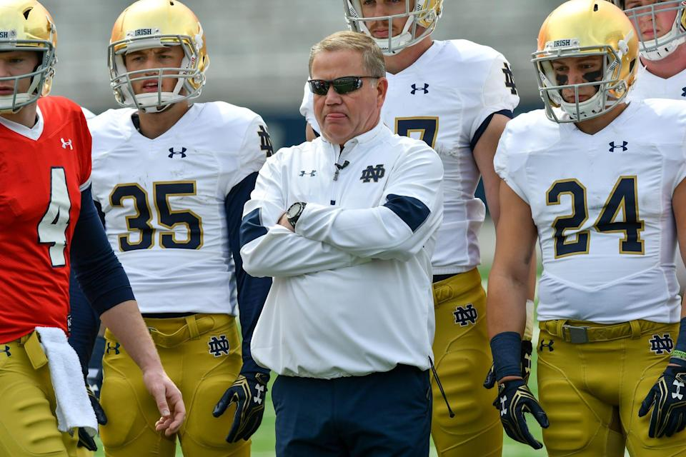 Saturday, Sept. 23: vs. Notre Dame, Spartan Stadium in East Lansing. After a bye week, MSU takes on the Fighting Irish, who are looking for payback after losing to MSU in the second week of the season in 2016. But Notre Dame has been a troubled program of late, too, after going 4-8 last season. Brian Kelly's seat is getting warmer in South Bend and probably can't afford to lose many more games.