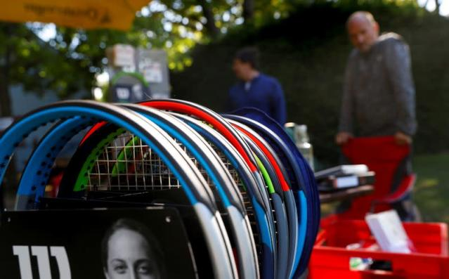 Reopening of tennis courts in Vienna