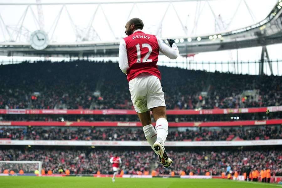 Arsenal's French striker Thierry Henry c