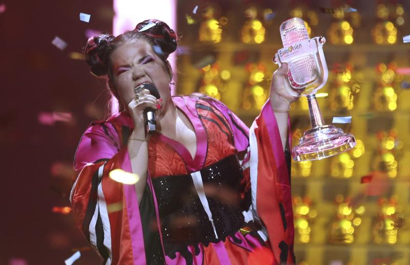 Israeli Singer Netta Barzilai Dubbed the victor of Eurovision Song Contest