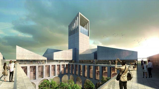 Beijing's vast 'Universal Wine Museum' will be ranged around a tower inspired by church architecture