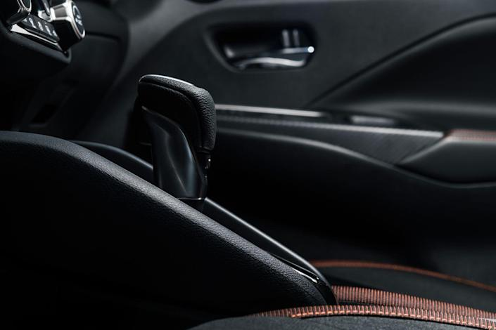 <p>The 2020 Versa adds a more powerful engine and continues to offer a standard five-speed manual transmission. Under the hood is a revised 1.6-liter inline-four that makes 122 horsepower (up from 109) and 115 lb-ft of torque (up from 107). </p>