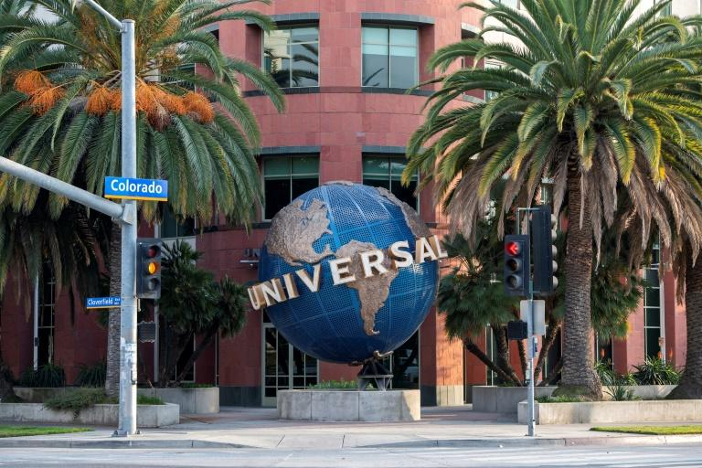 Universal Music owns a catalogue of four million songs (AFP/VALERIE MACON)