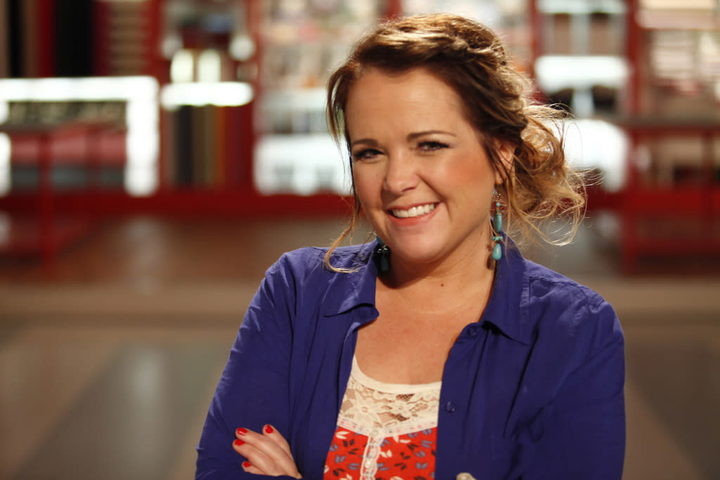 "Contestant Christy Tomlinson is featured in the series premiere of ""Craft Wars."""
