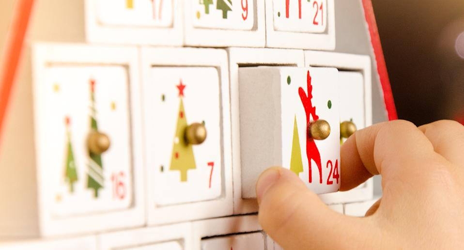 These advent calendars have up to half price off right now. [Photo: Getty]