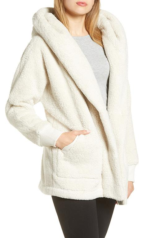 Even blankets have nothing on this plush coat. (Photo: Nordstrom)