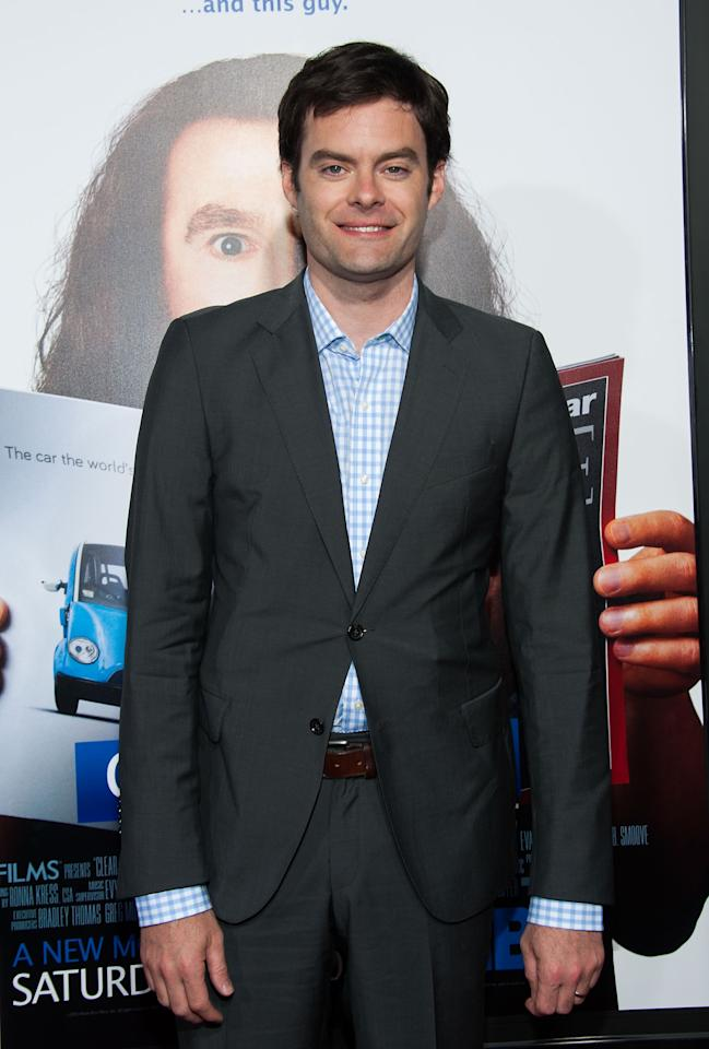 "HOLLYWOOD, CA - JULY 31: Bill Hader arrives at the Premiere Of HBO Films' ""Clear History"" at ArcLight Cinemas Cinerama Dome on July 31, 2013 in Hollywood, California. (Photo by Valerie Macon/Getty Images)"