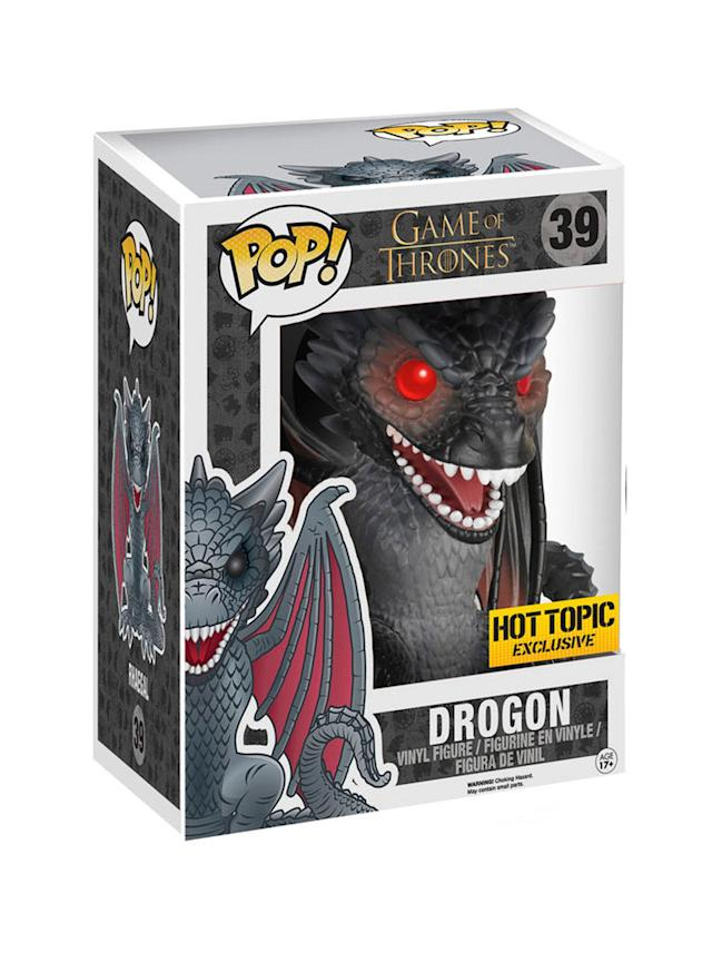 <p>Drogon is believed to be the reincarnation of Balerion, one of the dragons the original Aegon used to conquer Westeros. </p>
