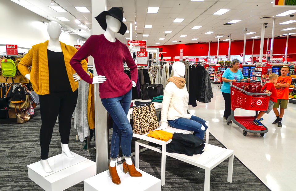 Target is hitting the bullseye with apparel. (Getty)