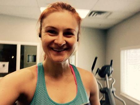 Alleged Russian agent Maria Butina appears in an undated photo from her Twitter account obtained July 19, 2018.   Maria Butina/Social Media via REUTERS
