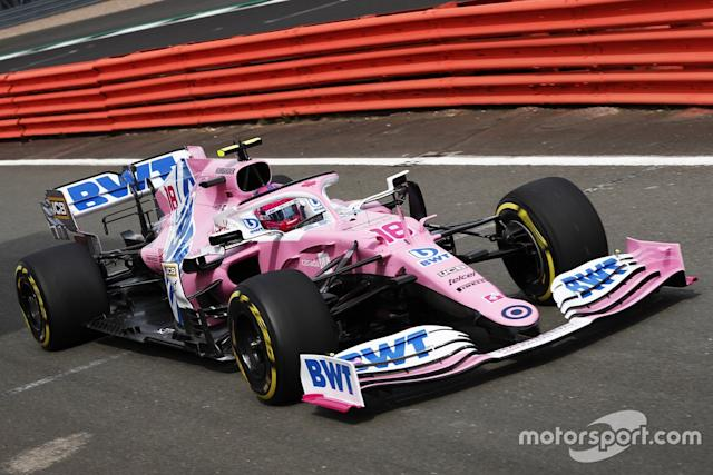 """Lance Stroll, Racing Point RP20 <span class=""""copyright"""">Racing Point</span>"""
