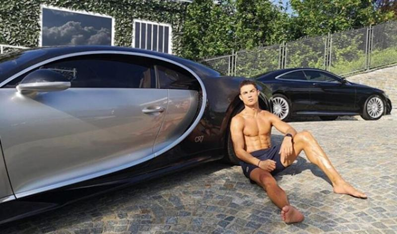 Cristiano Ronaldo Buys World's Most Expensive Car Bugatti La Voiture Noire after Guiding Juventus to Serie A 2019–20 Title