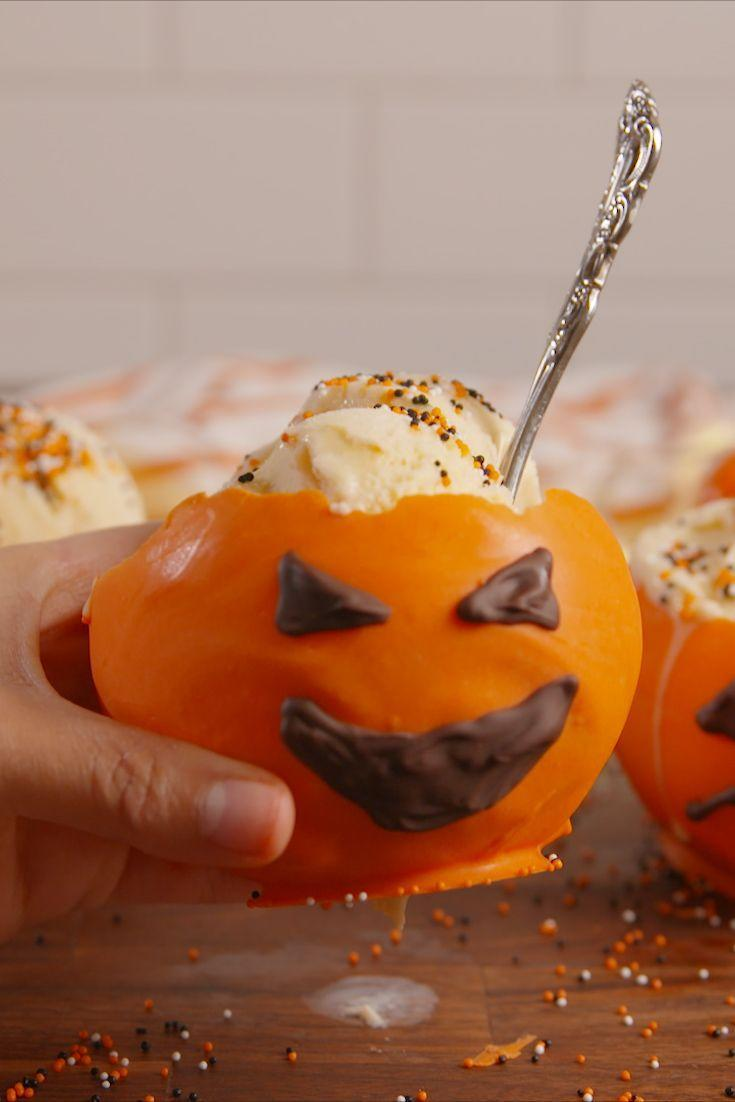 """<p>We're serving everything in these festive bowls this year.</p><p>Get the recipe from <a href=""""https://www.delish.com/cooking/recipe-ideas/recipes/a55533/jack-o-lantern-bowls-recipe/"""" rel=""""nofollow noopener"""" target=""""_blank"""" data-ylk=""""slk:Delish"""" class=""""link rapid-noclick-resp"""">Delish</a>.</p>"""