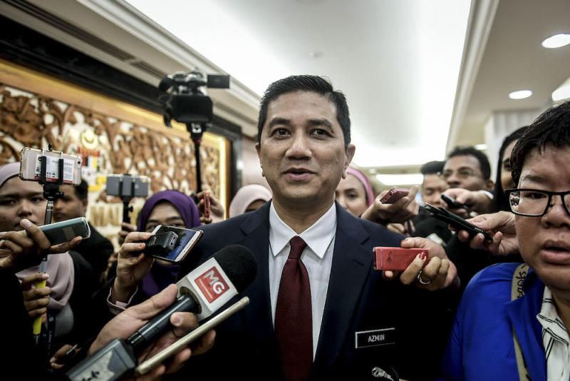 Datuk Seri Azmin Ali said KBN 2018 will look into improving current policies for the purpose of developing positive values, education as well as various strategies that could benefit the Bumiputeras. — Picture by Hari Anggara