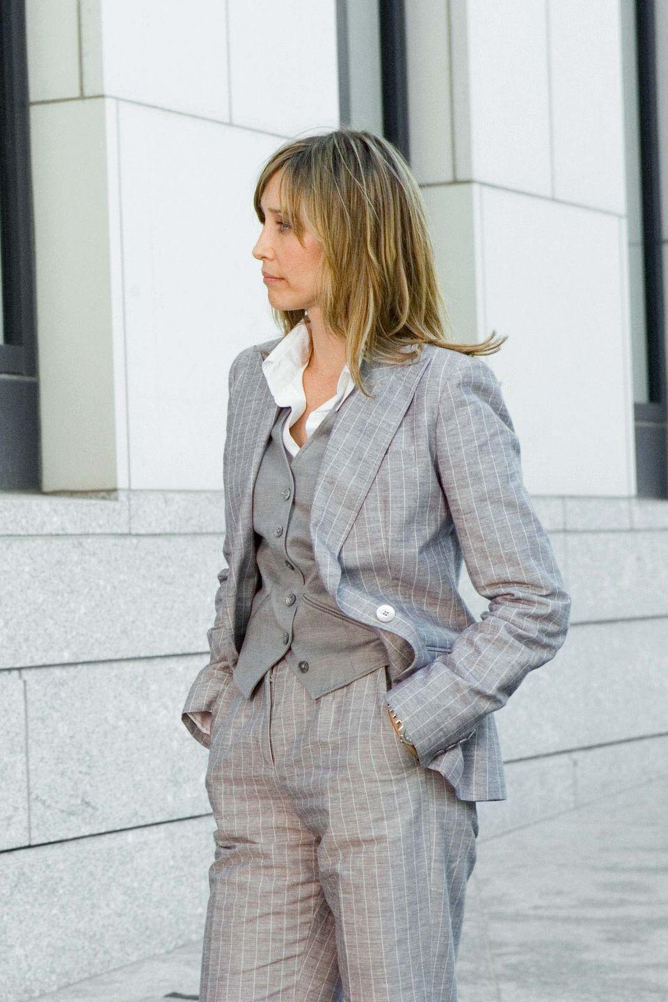 <p>If, unlike me, The Departed did not make it onto your lockdown rewatch list, then do it now, even if just for Vera Farmiga's incredible three-piece suits.</p>