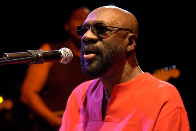 Isaac Hayes in concert - London