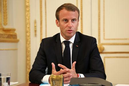 French weekly cabinet meeting at the Elysee Palace in Paris