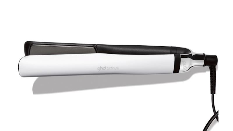 GHD Platinum White Professional Styler Flat Iron. (Photo: Walmart)