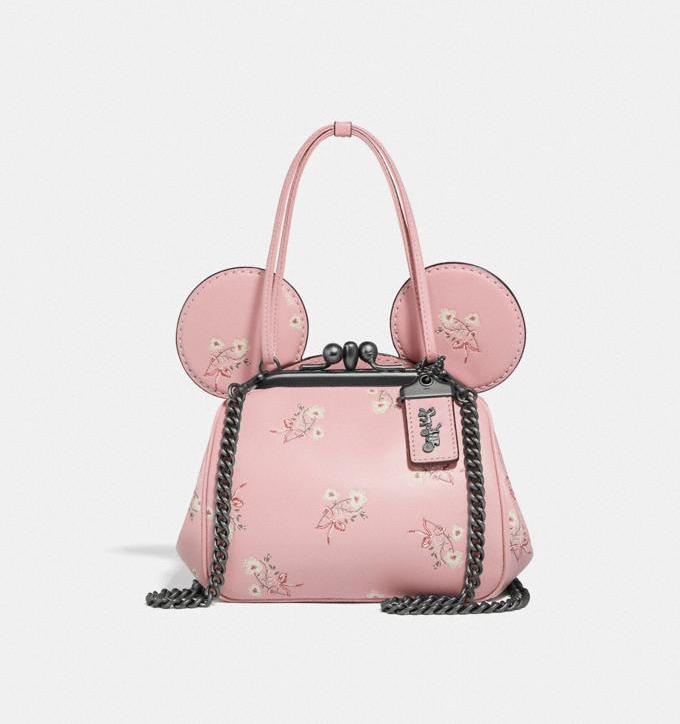 Disney X Coach Minnie Mouse Kisslock Bag. Image via Coach.
