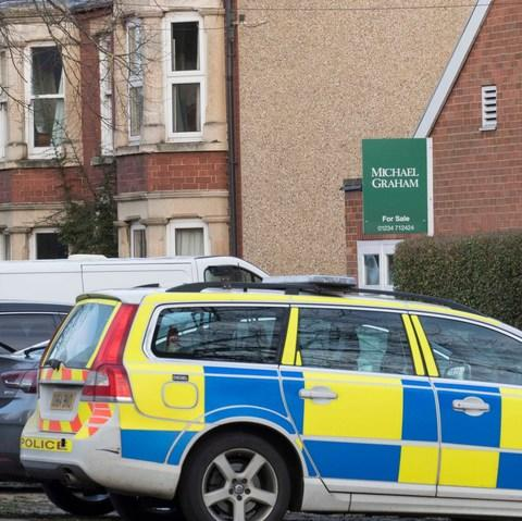 Police have been at the family home of Ben Field in Olney - Credit: Eddie Mulholland