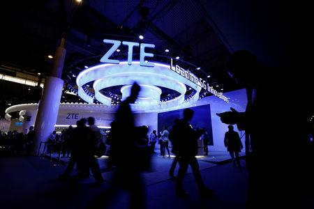 Image result for ZTE Corp shares surge 14 percent, forecasts first-quarter rebound