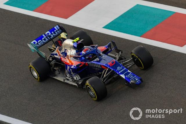 """Pierre Gasly, Toro Rosso STR14 <span class=""""copyright"""">Jerry Andre / Motorsport Images</span>"""