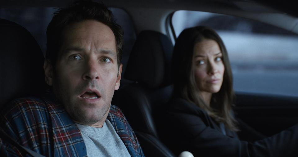 Paul Rudd and Evangeline Lilly in <em>Ant-Man and the Wasp</em>. (Photo: Disney)