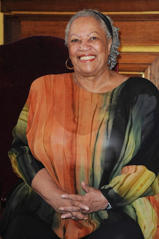 <p>Toni Morrison is a notable American novelist who attended Howard University. Her best-known works include <em>Beloved, The Bluest Eye, </em>and<em> Song of Solomon</em>. (Photo: Getty Images) </p>