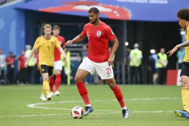 Loftus-Cheek's form at Crystal Palace saw him called up to the England squad for the World Cup