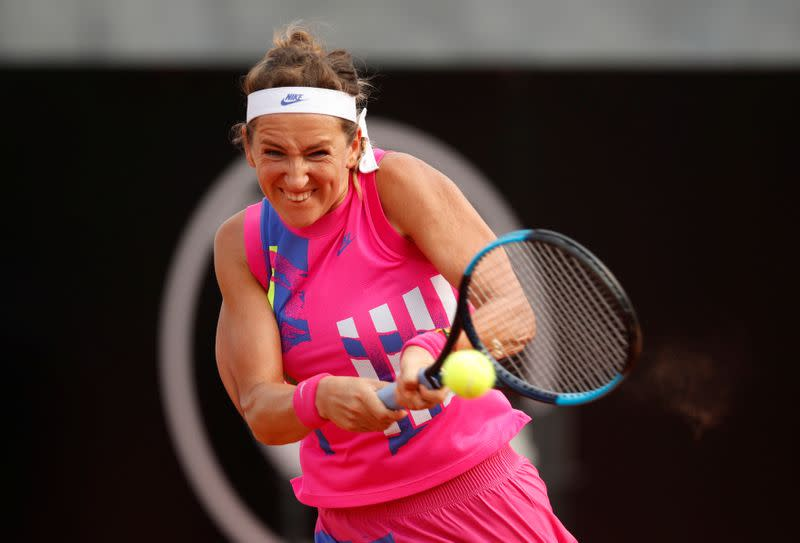 Back from adversity, rejuvenated Azarenka is on a roll