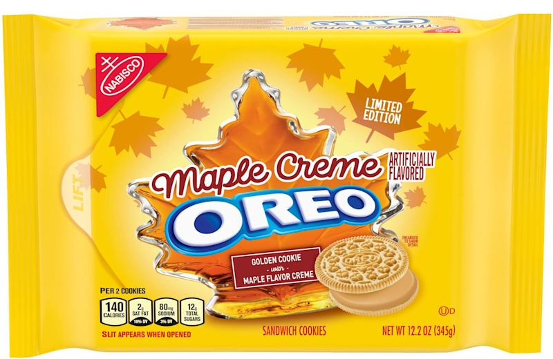 Maple Crème Oreos are finally coming to stores this fall