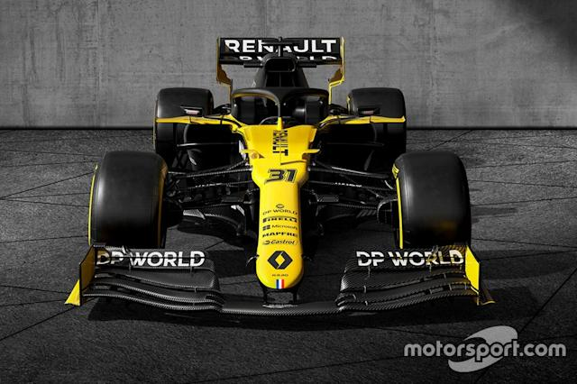 """Renault F1 Team R.S.20 livery <span class=""""copyright"""">Renault F1</span>"""