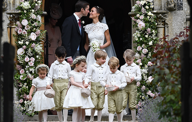 The wedding took place on Saturday in Berkshire. Photo: Getty