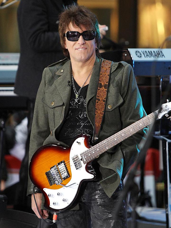 "Fellow rocker Richie Sambora of Bon Jovi was saluted this week in his hometown of Woodbridge, New Jersey, where a street was named in his honor. Bennett Raglin/<a href=""http://www.wireimage.com"" target=""new"">WireImage.com</a> - November 25, 2009"