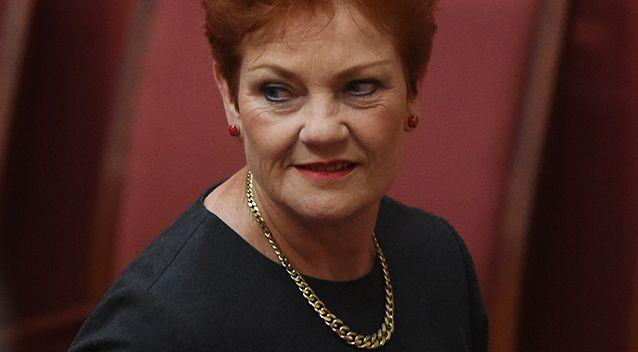 One Nation leader Senator Pauline Hanson has laid out her vision for Australia. Photo: AAP