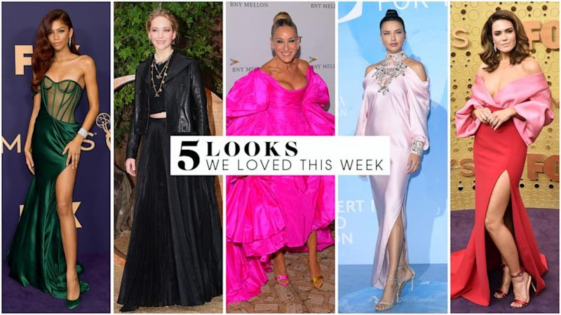 5 looks we love this week: Sarah Jessica Parker, Zendaya, Adriana Lima and more