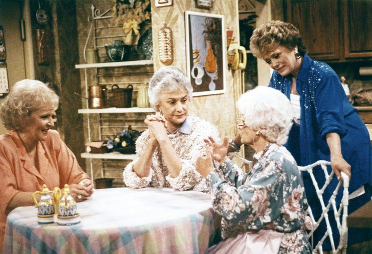 Betty White, Bea Arthur, Estelle Getty, and Rue McClanahan were the original