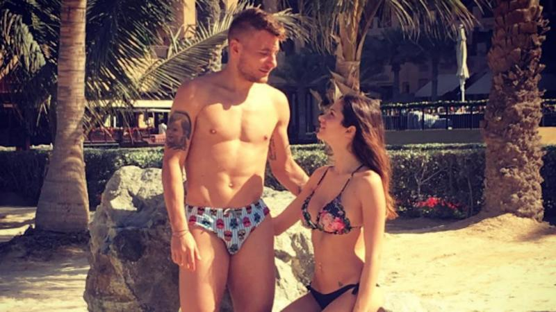 Extra Time - Ciro... Immobile con la bella Jessica