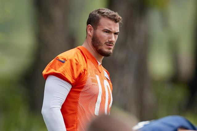 Chicago Bears quarterback Mitchell Trubisky could be the crucial figure in the team's suddenly reborn Super Bowl aspirations. (Getty Images)